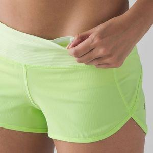 Lululemon speed up shorts size 4
